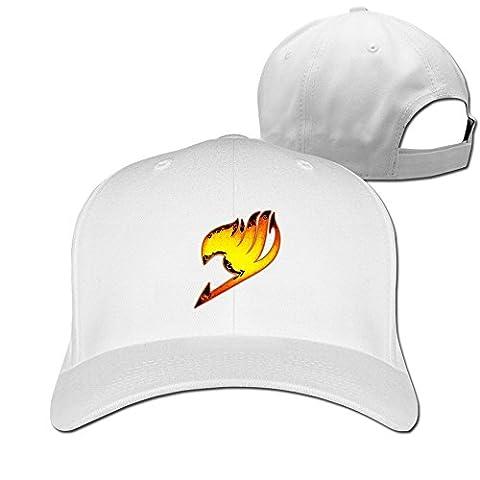 Feruch ZULA Particular Unisex Farily Flame Logo Tail Baseball Visor Cap White White