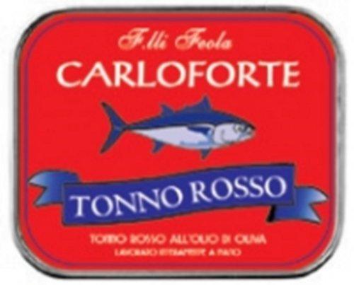 TONNO ROSSO OLIO OLIVA CARLOFORTE 350 GR