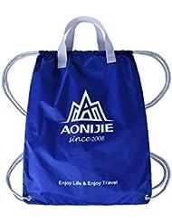 Bazaar La poche extérieure cordon sport de pliage sac à dos sac formation nylon imperméable basket-ball