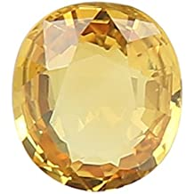 100% Natural Yellow Sapphire (Pukhraj/Guru) Certified Astrological Gemstone (2.95 CTS)