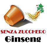 CiaoCaffè SENZA ZUCCHERO 50 Capsule Ginseng Compatibili Nespresso