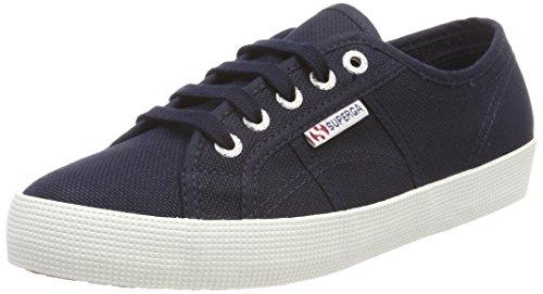 Superga 2750-cotbumpj, sneaker unisex bambini, blu (navy/fwhite f43), 27 eu