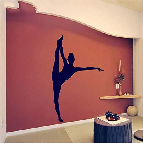 Wandtattoo Schlafzimmer Schönes Tänzer-Gymnastik-Mädchen scherzt Schlafzimmer oder Spielzimmer-Dekor