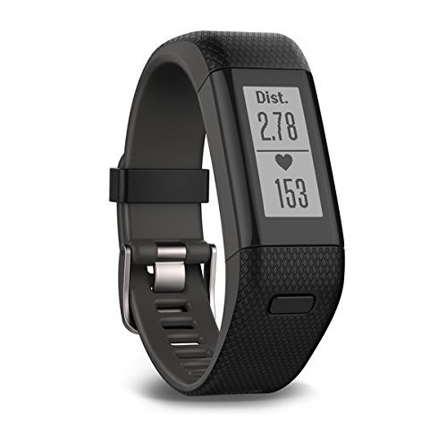 Garmin vívosmart HR+ Fitness-Tracker – GPS-fähig, Herzfrequenzmessung am Handgelenk, Smart Notifications - 2