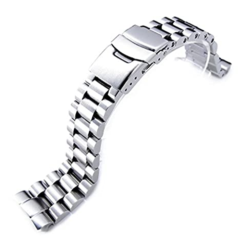22mm Endmill Watch Bracelet for Seiko New Turtles SRP777 PADI