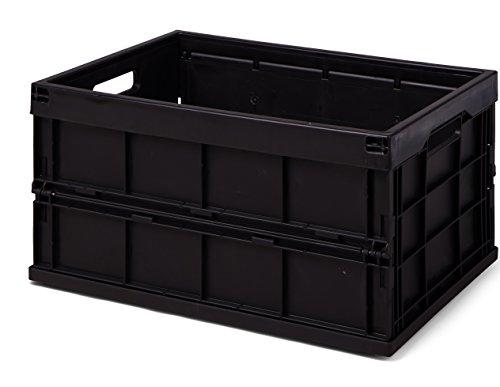 Polar Minibar Kühlschrank Schwarz 30l : Action faltbox schwarz höhe 275 mm lxb = 530x350 mm 40 liter aus