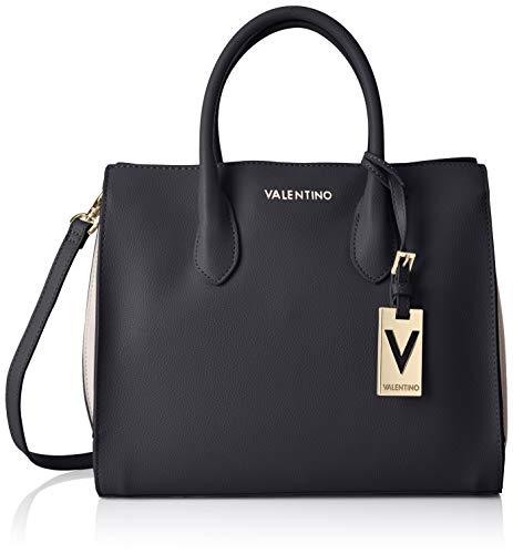 Mario Valentino VBS30101, Sac femme - Noir - Noir (Nero/multicolor 395), 14.5x25x31 cm (B x H x T)