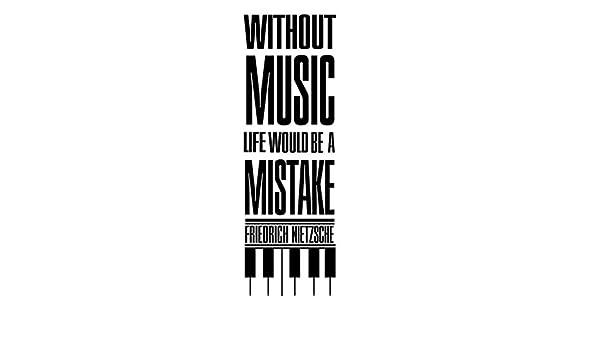 Citation Nietzsche Musique : Sticker citation musique music band u stickers musique cinema