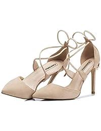 Tres Nude Meses Amazon Últimos Color Zapatos De es WPwwgZc