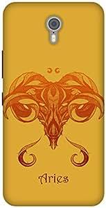 The Racoon Lean printed designer hard back mobile phone case cover for Lenovo Zuk Z1. (Aries)