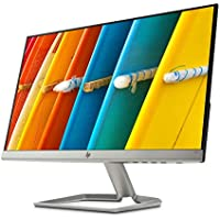 HP 22f Display Full HD (1920 x 1080) 21.5 Inch Monitor (1 VGA, 1 HDMI 2.0) - Silver / Black