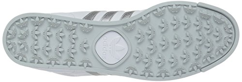 Adidas Samoa Leder Turnschuhe White/Metallic/Silver/Light Grey