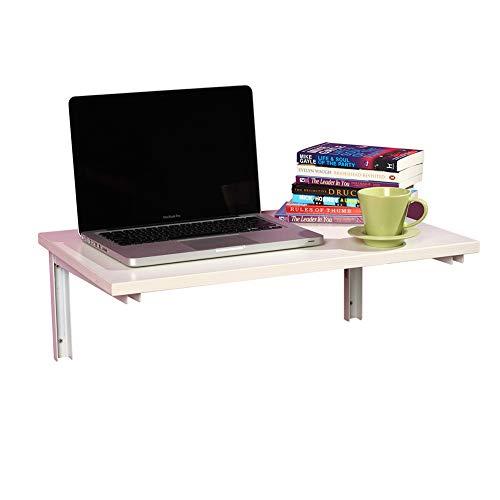 PENGFEI Tische Wandtisch Wand-Klapptisch Laptop-Tisch Bücherregal Zuhause Massivholzschindeln, 2...
