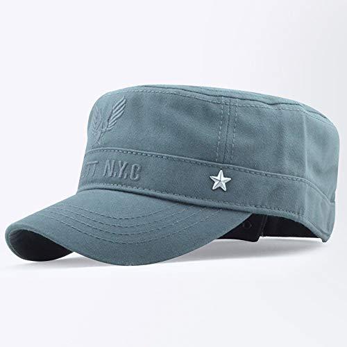 Kurze Crown Caps (Wxtreme 2019 frühling Klassische Neue atmungsaktive baskenmütze Frauen Sommer Damen zeitungsjunge Hut uxisex Military Cap lässige Sonne Breathable hüte (Color : Gray, Größe : One Size))