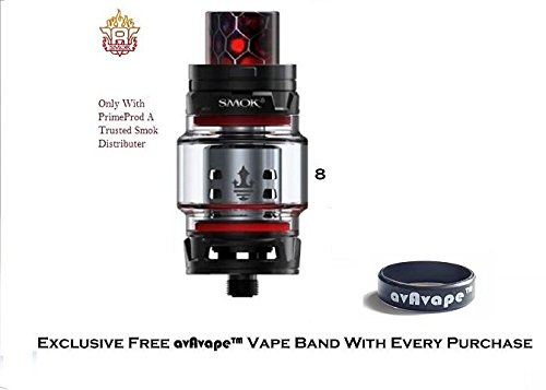 Smok TFV12 Prince Tank 8ml Cloud Beast Sub Ohm With Free Bonus avAvape™ Vape Band (Black)