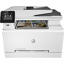 HP Color Laserjet Pro MFP M281fdn – Impresora láser multifunción (Lan, fax, copiar, escanear, imprimir en color, 21ppm), color blanco