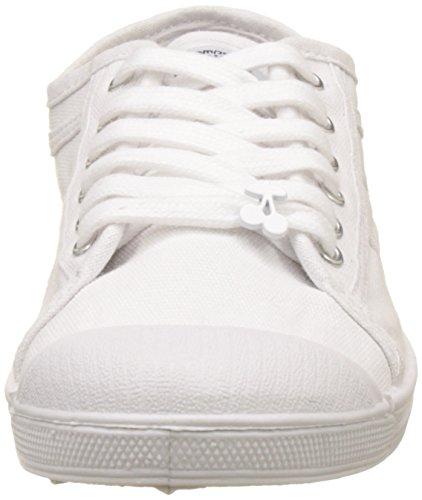 Le Temps des Cerises Basic 02 Sneakers Basse per Le Donne Bianco