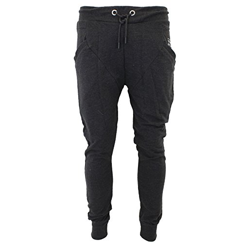 Crosshatch -  Pantaloni sportivi  - Uomo Charcoal