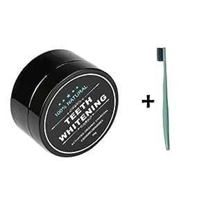 lonupazz poudre de blanchiment des dents au charbon actif naturel dent blanche dentifrice de. Black Bedroom Furniture Sets. Home Design Ideas