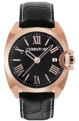 Cerruti 1881 CRA183SR02BK Montre à bracelet pour homme