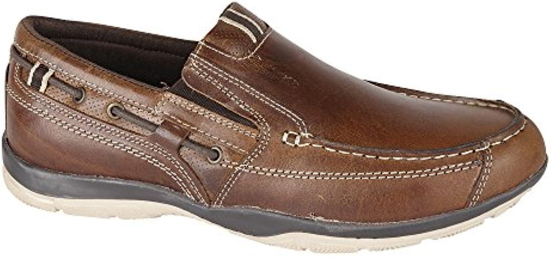 Private Brand Hombre zapato Slipper Guantes Piel Auténtica Tamaño