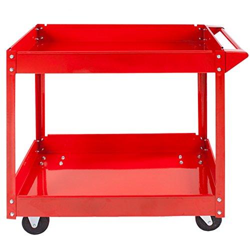 TecTake® 2 Etagen Werkstattwagen Werkzeugwagen Rollwagen Montagewagen Wagen Werkstatt - 3