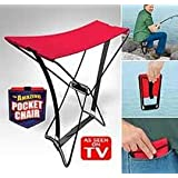 Pocket Chair silla plegable Taburete Pesca Outdoor Camping de concierto