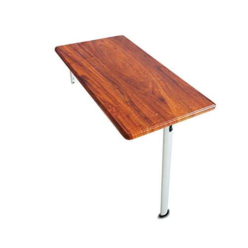 t Tisch Wand Klapp Schreibtisch Küche Esstisch Computer Workstation Kinder Studie Veranstalter Tisch nach unten, 74 × 40 × 74 cm (Farbe : Red Wood Grain) ()