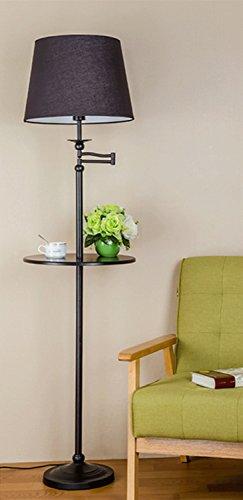 Lampada da terra Soggiorno Mensola vassoio Tavolino lampada da terra di controllo remoto della lampada verticale senza Sorgente luminosa ( colore : #3 , dimensioni : S. )