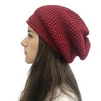 Winter Knit Beanie Hoed voor Vrouwen Mannen Unisex, Effen Kleur Warm Slouchy Zachte Ski Manchet Cap