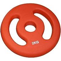 Sveltus-Discos con Asas unitario Rojo Talla:2 kg