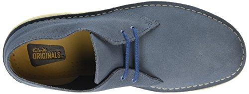 Clarks Originals 26106561 Scarpe stringate Desert Boot, Uomo Denim