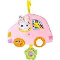 Preisvergleich für Baby-lustiges Spielzeug Kinder Kind Schöne Auto Form Roll Hand Greifen Spiegel Spielzeug Bunte Sicherheit Spiegel Geschenk