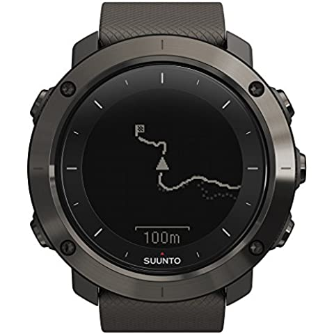 Suunto Traverse Graphite - Reloj GPS, color gris