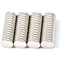 52 pezzo magnete al neodimio 10 millimetri diametro x 2 mm con 2,2 kg di tiro (confezione da 52) Magenesis®