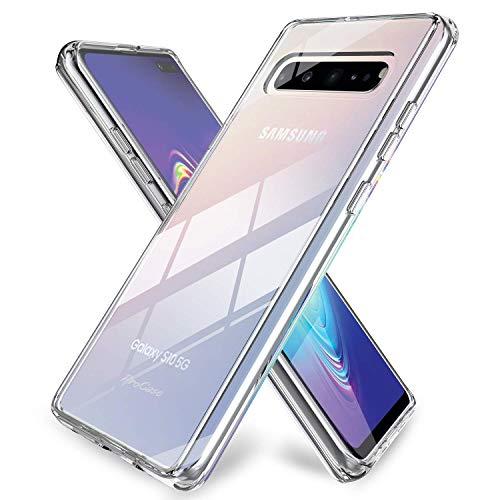 5g Cover (ProCase Galaxy S10 5G Ultradünn Transparente Schutzhülle, Slim Hybrid Crystal Clear Cover Schutzhülle für Galaxy S10 5G 6.7 Zoll 2019 -Klar)
