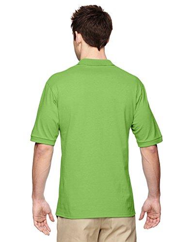 Jerzees 5,6oz. 50/50der Männer Jersey Polo mit SpotShield, Herren, 437, Kiwi, XXXXL (Golf-polo-shirt Jerzees)