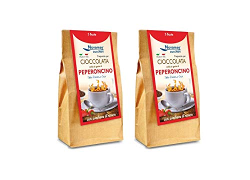 Chocolate caliente - Sabor a pimienta - 10x25g - 250g - Novarese Zucch