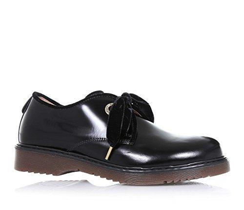 b8bd11ceaf40f Twin Set - Chaussure Noire à Lacets