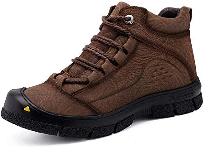 GZ Scarpe da Trekking da Uomo, Autunno Inverno Outdoor Trekking Trekking Trekking Arrampicata scarpe da ginnastica Low-Top Antiscivolo Outdoor...   Prezzo economico  5c350e