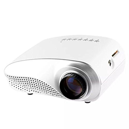 CN Mini LCD Proyector LED Full HD 1080P Proyector De Cine En Casa Portátil (XY-802) XUYAN,White