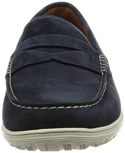 Rockport Total Motion Loafer Penny, Mocassins Homme Blue (new Dress Blue)