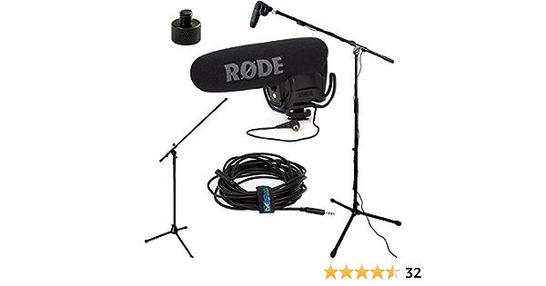 Rode Videomic Pro R Studio Boom Vmpr Boom Ständer Kamera
