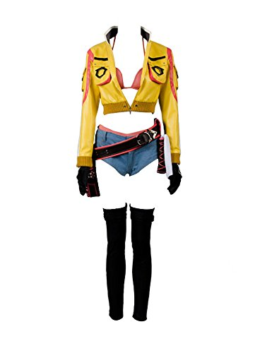 Final Fantasy XV FF15 Cindy Aurum Gas Station Service Uniform Cosplay Kostüm Damen S