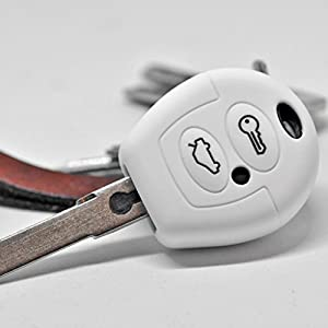cerradura electrónica toledo: Key Soft Case Cover Funda Protectora para VW T4 Golf Fox Wind Sharan Seat Toledo...