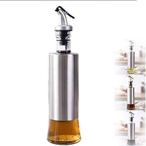 Essig und Ölspender - Premium aus transparentem Kristallglas- 300ml