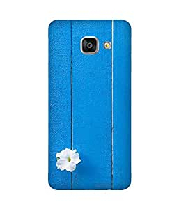 White And Blue Samsung Galaxy A3 Case