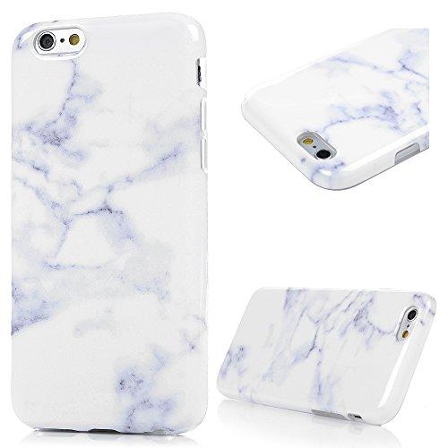 iPhone 6Custodia, iPhone 6S Custodia-MAXFE.Co Marble Pattern colorata tpu ultra sottile, flessibile morbido antigraffio antiurto Custodia protettiva per iPhone 6, iPhone 6S