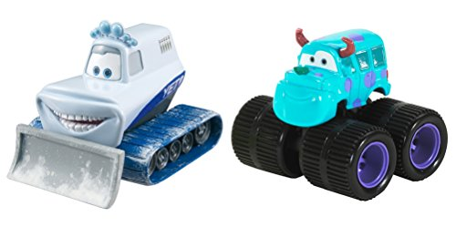 Disney Cars 2er Set Sulley und Yeti the Abominable Snowplow Serie Drive In