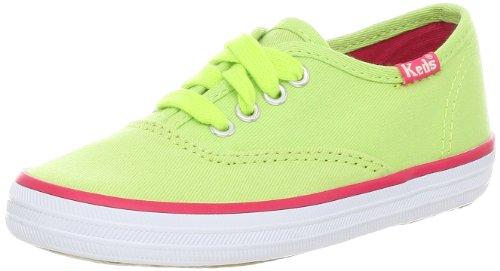 Keds Original Champion CVO KT34120, Sneaker ragazza, Verde (Grün (LIME)), 32
